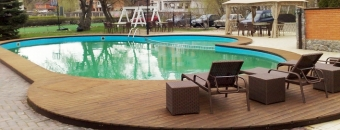 Terraces made of TMW